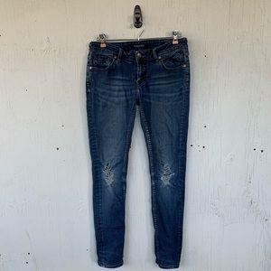 Vigoss Distressed The New York Super Skinny Jeans